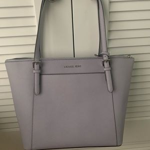 Michael Kors lilac leather tote NWT